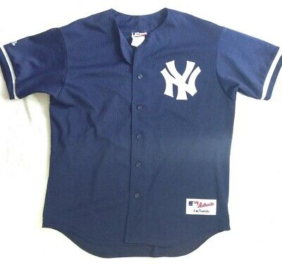 Official New York Yankees Jersey, Large, Authentic Collection, Majestic