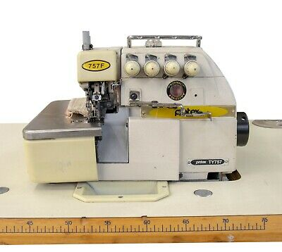 Protex TY757 Industrial Overlock Sewing Machine 5-Thread
