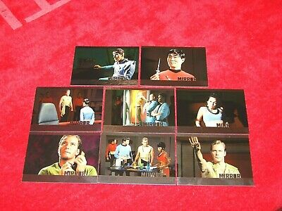 2016 Star Trek Original Series 50Th Anniversary Mirror Mirror Uncut 8 Diff (Ns)