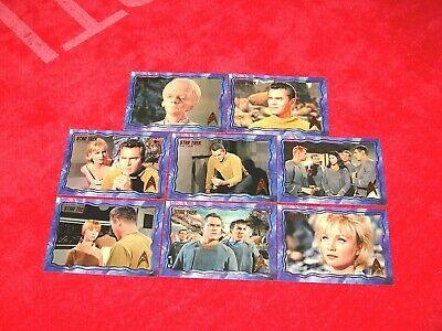 2016 Star Trek Original Series 50Th Anniversary The Cage Uncut 8 Different (Ns)