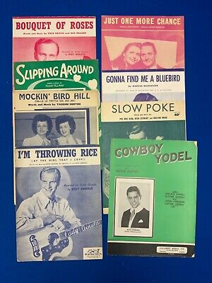 Country & Western Sheet Music / Song Books (13)