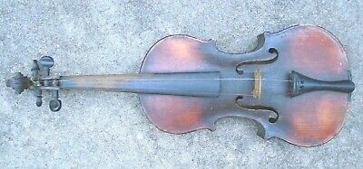 antique full size German Stradivarius model violin