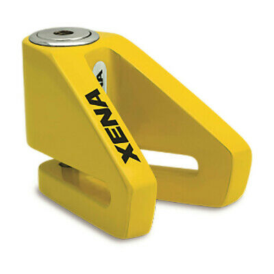 Xena X1 Yellow Scooter Disc Lock 6mm Pin