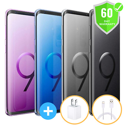 Samsung Galaxy S9 G960U | Factory Unlocked | GSM ATT T-Mobile | 64GB | Excellent