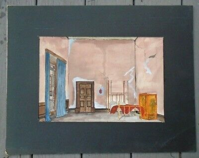 Sottile Acquarello Studio Pittura Teatro Play Set Design di Charles Hunt