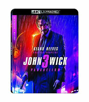 John Wick: Chapter 3 - Parabellum 4K ( 4K UHD/Blu-ray ) with Slipcover 2019