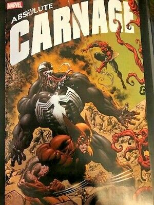 Absolute Carnage 3 Connecting Variant (2019) NM 1st Print, Venom, Spider-man