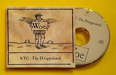XTC 'The Disappointed' 4-track UK CD single (Virgin, 1992) Classic Partridge!