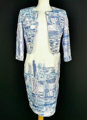 Lizabella Mother Of The Bride Outfit Dress & Jacket Occasion Wedding Size 12