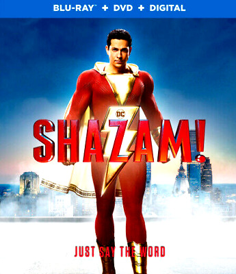 Shazam: Dc, Slip Cover, Case And Dvd Only, Never Watched, Free Shipping