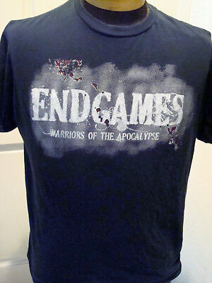 Knotts Scary Farm 2011 Endgames Warriors of the Apocalypse Large T-Shirt