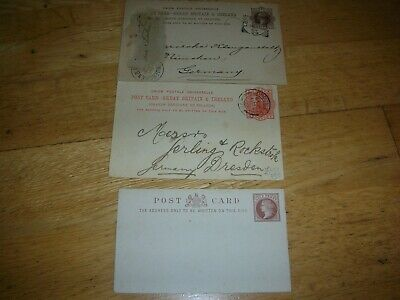 stamp collection queen victoria stamps on envelopes/postcards