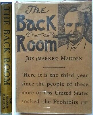 THE BACK ROOM 1937 - by Joe (Markee) Madden - Autographed