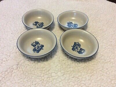 "Pfaltzgraff Yorktowne 6"" Soup/Cereal Bowls - Set of 4"