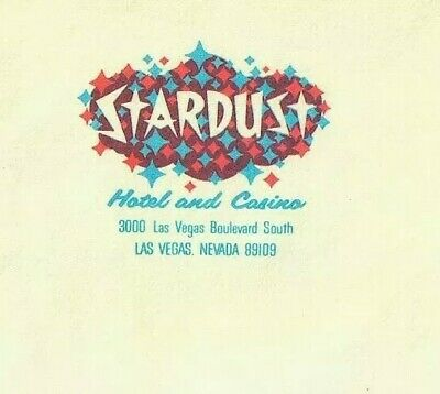 Vintage Old 1960's STARDUST HOTEL and & Casino Envelope in Las Vegas Nevada MINT