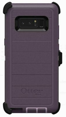 OtterBox Defender Pro Case Belt Clip Holster for Samsung Galaxy Note 8 Purple OP