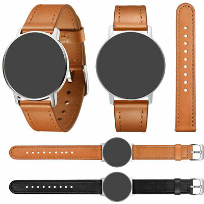 18mm Universal Quick Fit Genuine Leather Watch Band Strap Belt Replacement HOT