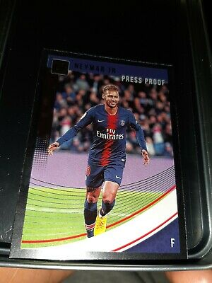 Panini Donruss Soccer 2019 Neymar Jr PSG Press Proof.
