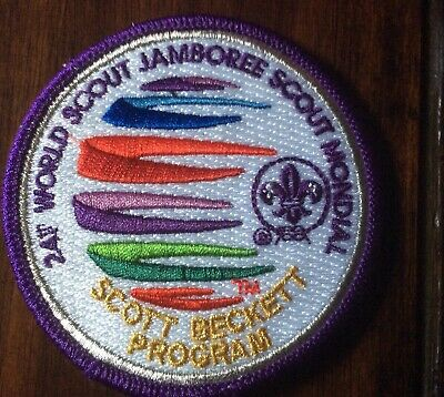 2019 World Scout Jamboree Signed Scott Beckett Program Chairman Patch New