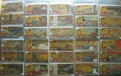 Lehning Comic Convolute Collection Nick Piccolo in 3 Folder 162 Piece Issues