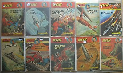 Lehning Comic Convolute Collection Nick in 3 Folders 91 Piece Issues