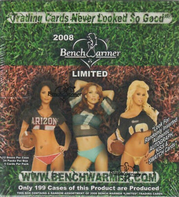 Benchwarmer Limited Hobby Box 2008 Sealed / Ovp