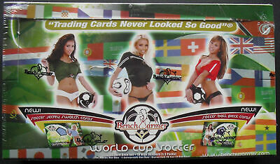 Benchwarmer World Cup Fútbol Trading Cards Box 2006