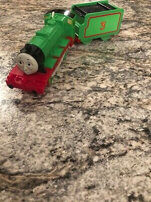 Thomas & Friends Henry TRACKMASTER Tomy Motorized 1993 EUC