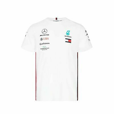 NEW 2019 Mercedes AMG F1 Team MENS Lewis Hamilton T Shirt IN ALL COLORS & SIZES
