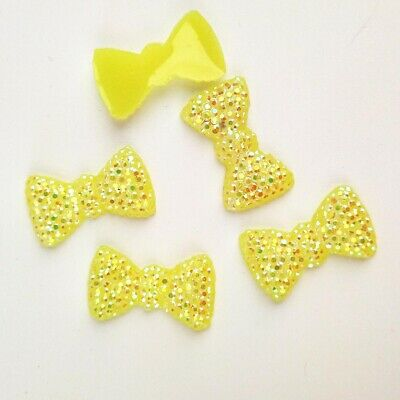 20pcs 12*20mm AB Resin BOW FlatBack Appliques/Wedding decoration /craft DIY