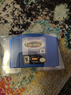 Nintendo 64 Game Tony Hawk's Pro Skater