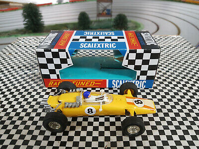 Scalextric C6 Vintage 60s Panther powersledge in superb original cond Boxed