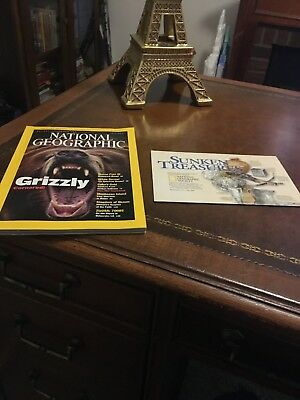 NATIONAL GEOGRAPHIC vol.200 No.1 July 2001 - Grizzly, Marco Polo III, Cuba & Map