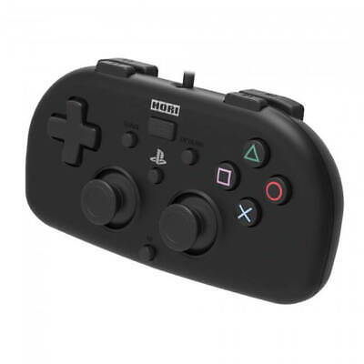Hori PS4 Mini Wired Gamepad Controller Black for Sony Playstation 4 Game System