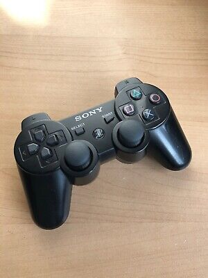 Official SONY PlayStation 3 Black DualShock 3 Controller PS3 S3