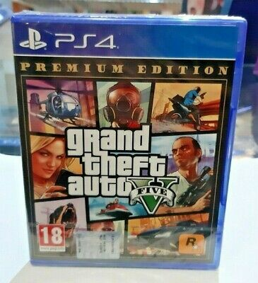 Grand Theft Auto V (GTA 5) - Premium Edition PS4 NUOVO SIGILLATO ITA