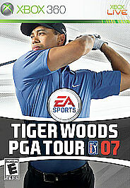Tiger Woods PGA Tour 07 (Microsoft Xbox 360, 2006) DISC IS MINT