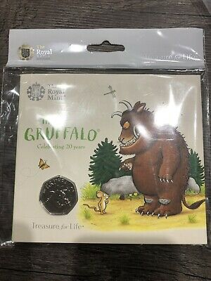2019 50p Fifty Pence COIN BUNC,The Gruffalo New Sealed Royal Mint