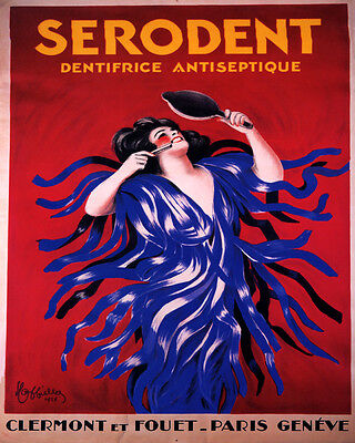 Cotton Nurse Red Cross By Cappiello Hospital French Vintage Poster Repro FREE SH