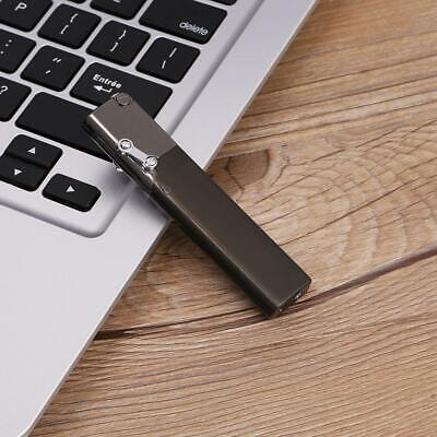 High Quality Fashion Slim Windproof  Refillable Jet Torch Gas Cigarette Lighter