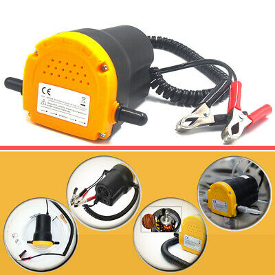 Oil Extractor Pump Oil Change Transfer 60W 12V Suction Pump