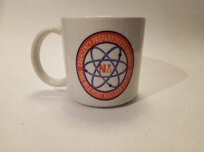 Nine Mile Point Nuclear Power Plant Vintage Atomic Coffee Mug/Cup