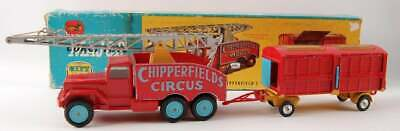 Corgi Major Toys No. 12 Chipperfield's Circus Crane Truck and Cage