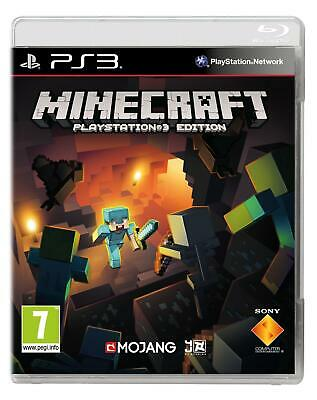 Minecraft PS3 Brand New Factory Sealed UK Pal