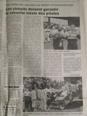 Journal Du Deces De : Stefan Bellof + Decouverte Du R.m.s. Titanic - 03/09/1985