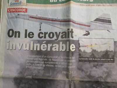 Concorde : On Le Croyait Invulnerable - 26/07/2000 - Son Crash -