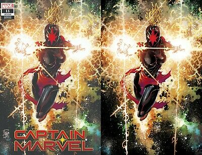 Captain Marvel 11 Philip Tan Comicxposure Virgin Variant 2 Set Pre-Sale 10/16
