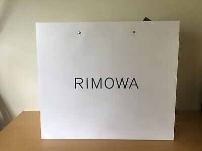 Used Like new - Paper Bag RIMOWA Bolsa de Papel - 49,5 x 43 x 24 cm - Usado