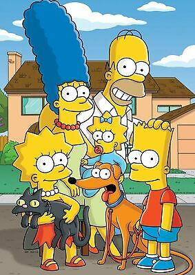 THE SIMPSONS  POSTER PRINT A5..A4..A3 A2 OPTIONS