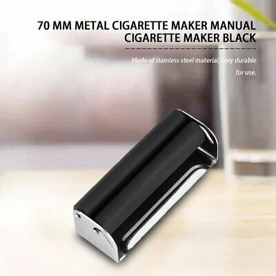 70MM Easy Use Manual Cigarette Rolling Machine Tobacco Injector Maker Roller#^
